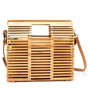 Naomi Bamboo Cross Body Bag